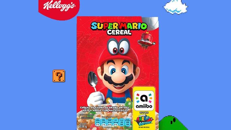 El cereal inspirado en Mario Bros llega a México