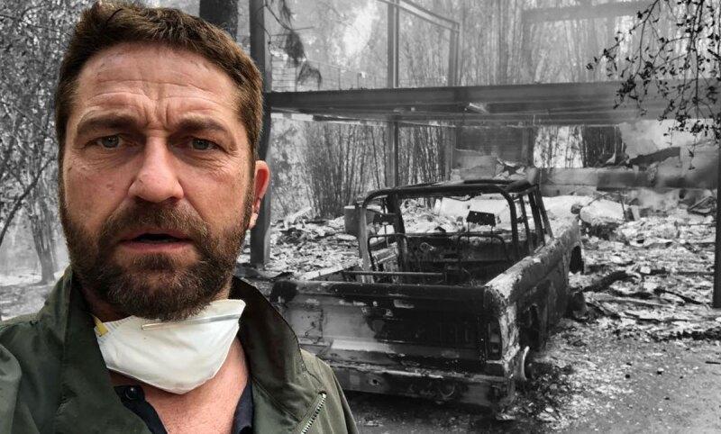 Gerard-Butler-Incendio-Califonia-celbes-evacuadas-afectadas-kim-kardashian-lady-gaga-kriss-jenner