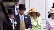 Prince Andrew With Friends