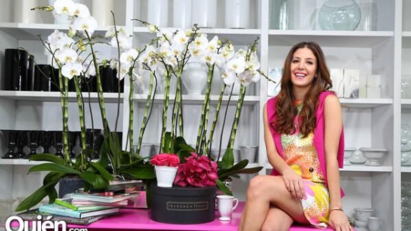 Jeanine Miguel, quien años atrás fue una de nuestras #GuapasQuién, nos platica de su incursión en la florería con otra de nuestras guapas, Vita Sofía Romo.