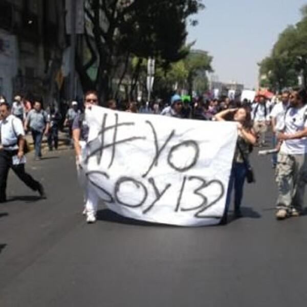 yosoy132 marcha segob