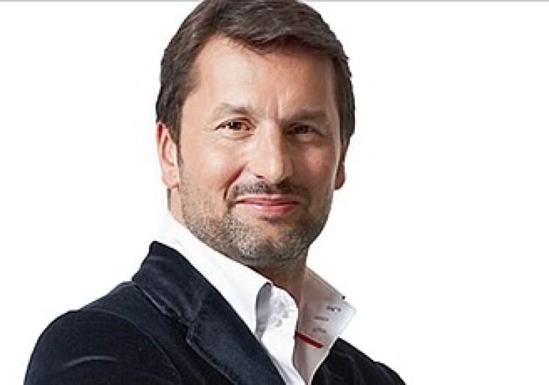 Maximililan Büsser, CEO de MB&F. (Foto: Cortesía revista Life & Style.)