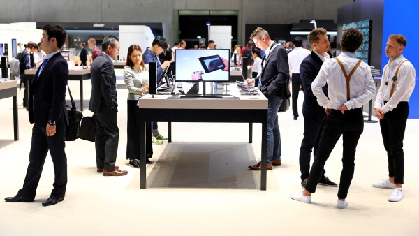 FILE PHOTO: IFA Electronics Show in Berlin