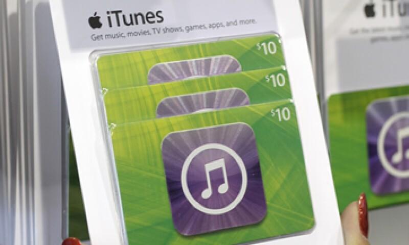 Las ventas de descargas de canciones individuales en EU han disminuido este año. (Foto: AP)