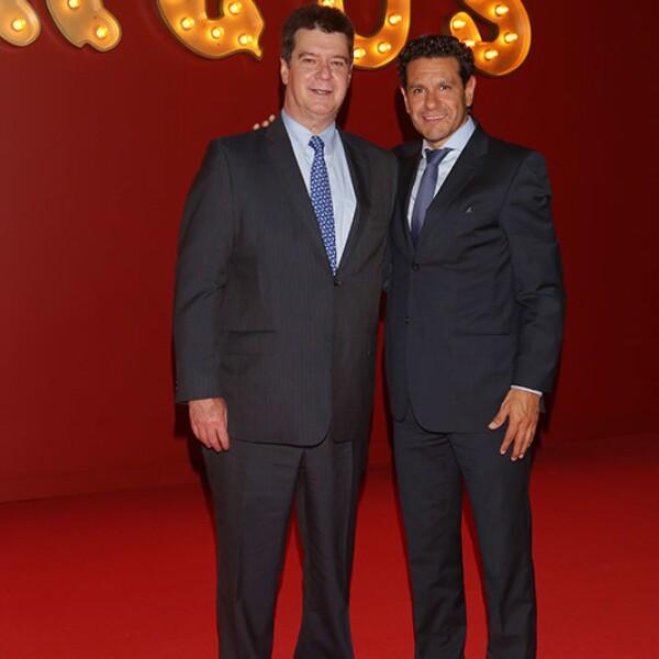 Ángel Ahedo y César Villaseñor