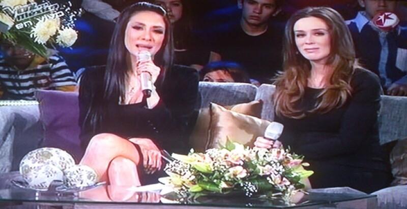 Ayer uno de los foros de Televisa rindió homenaje a la `Diva de la banda´, quien era coach del show de talentos. Conductores, coaches, amigos y público le dieron su adiós