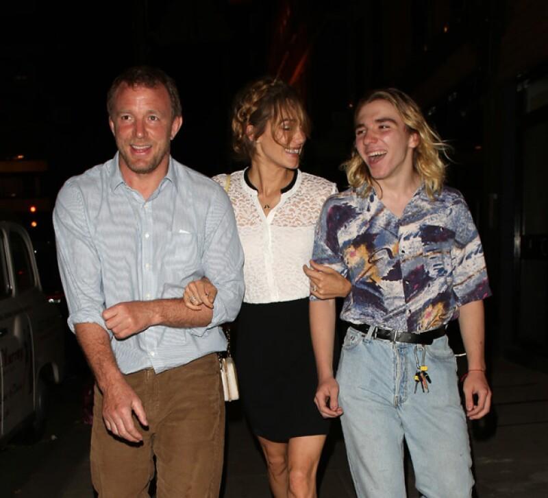 Rocco quiere quedarse a vivir en Londres con su papá, el cineasta Guy Ritchie.