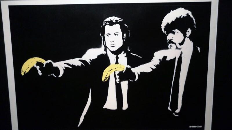 Banksy en Moscú