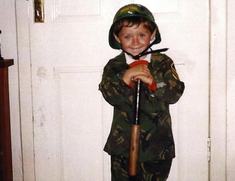 Niall Horan era un pequeño niño travieso.