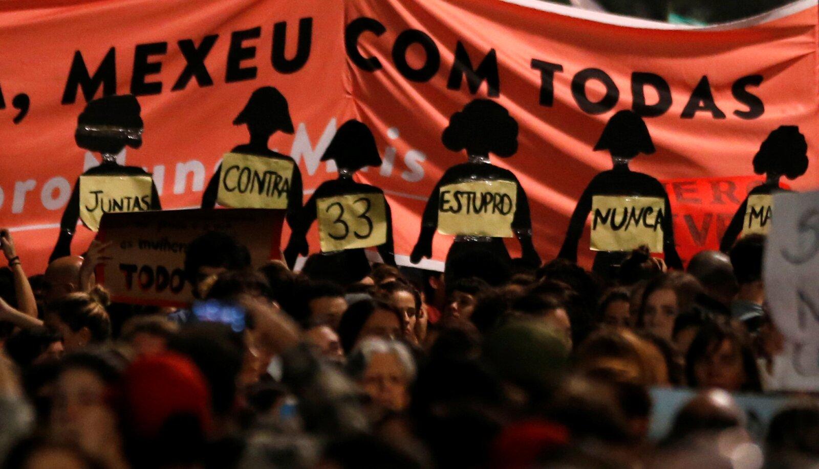 Cientos de mujeres han salido a la calle a manifestarse en contra de los abusos
