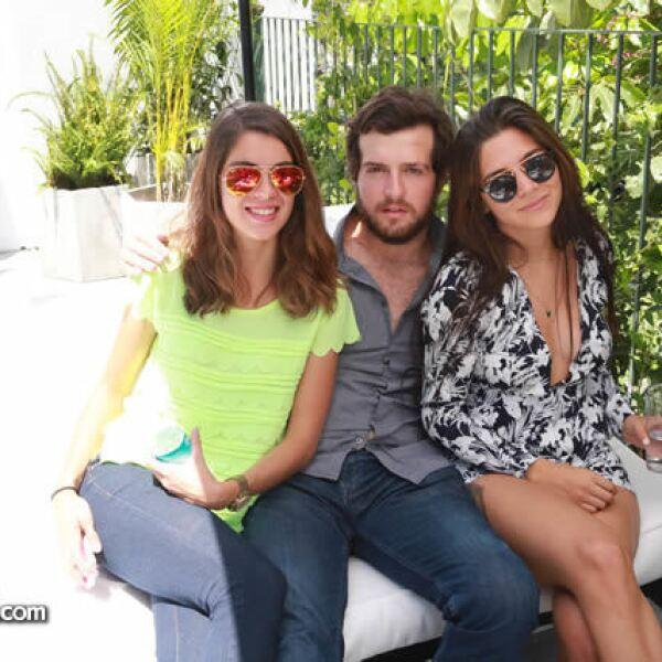 Priscila Navarro,Luis Mario Torres y Jimena Escobar