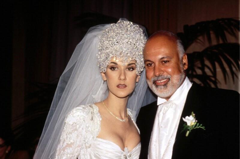 En diciembre de 1994 se casaron y la boda incluso fue transmitida por la televisión canadiense.