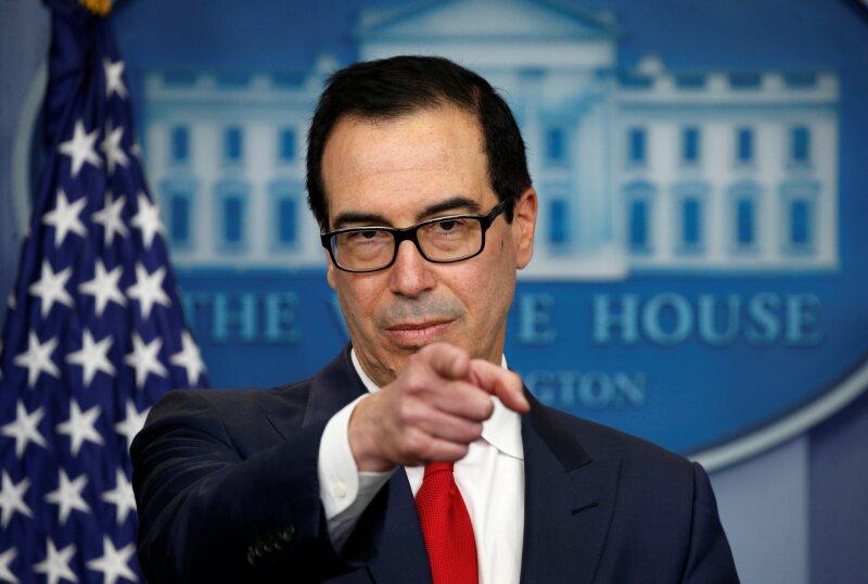 """Resultado de imagen para afirmó Steven Mnuchin, secretario del Tesoro, en un comunicado."""""""