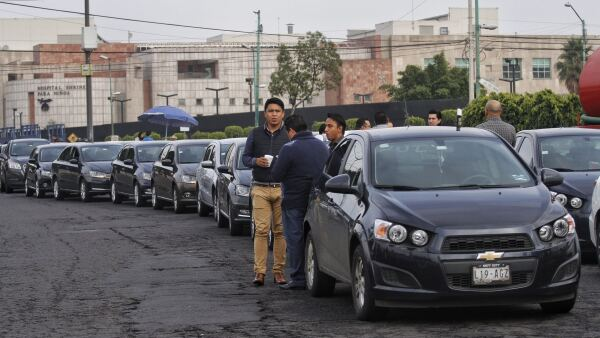 Conductores de Uber