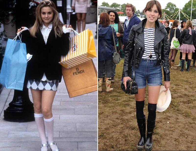 Si habían dudado que jamás volverían a usar plataformas, crop tops, vestidos cutout, grunge jeans y Dr. Martens, es momento de que lo piensen dos veces porque algo es seguro: los 90' están de regreso.