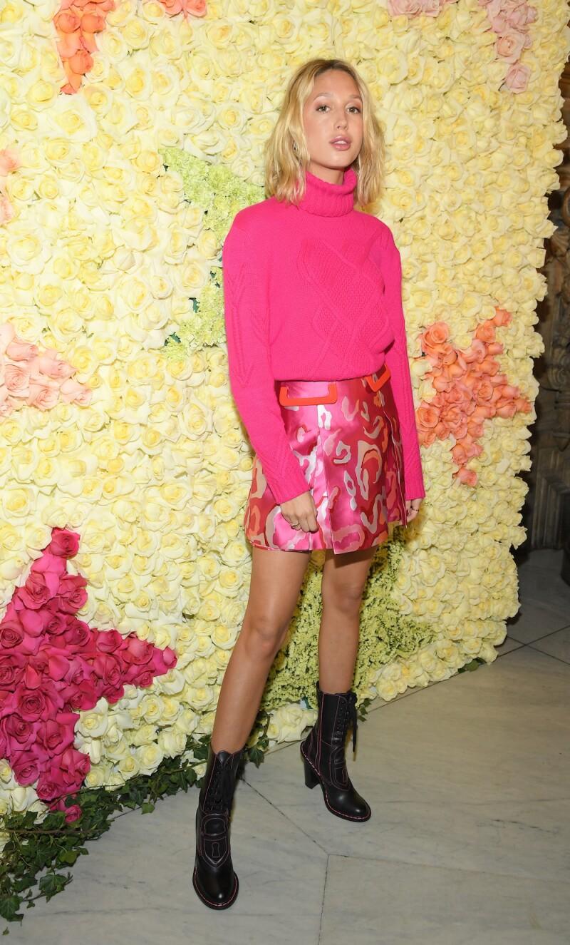 Schiaparelli : Front Row - Paris Fashion Week - Haute Couture Spring Summer 2019