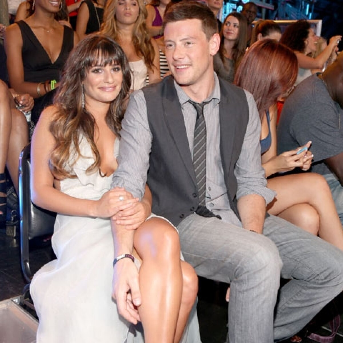 Lea Michele pide respeto a su privacidad por la muerte de Cory Monteith