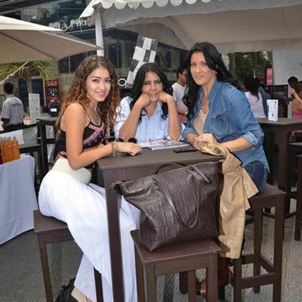 Brenda García,Brenda López Echanove y Cecilia Escobedo