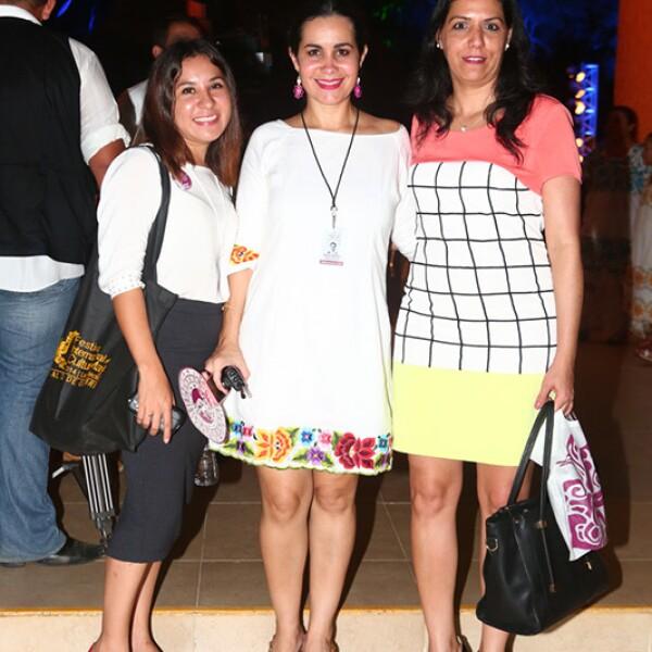 Beatriz Sánchez, Marta Chico e Ismary González