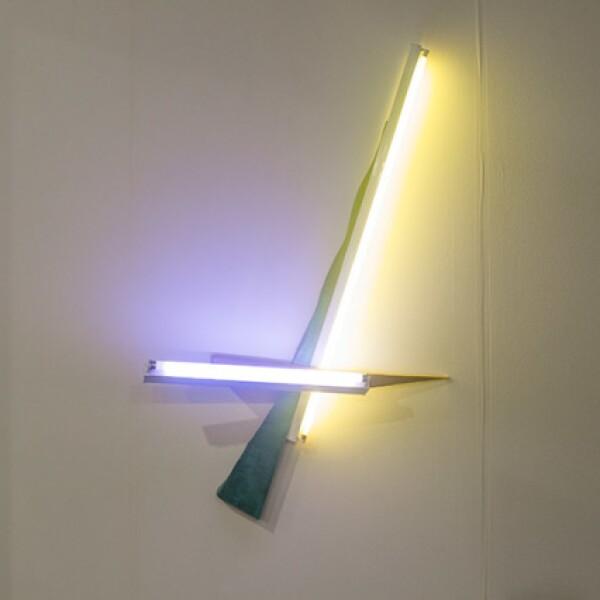 Mark Handforth,Blinky Palermo,2015,Flourescent light fixtures