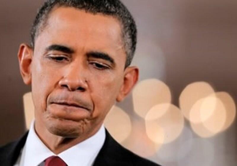 Barack Obama fue castigado por los electores estadounidenses en las elecciones legislativas. (Foto: AP)