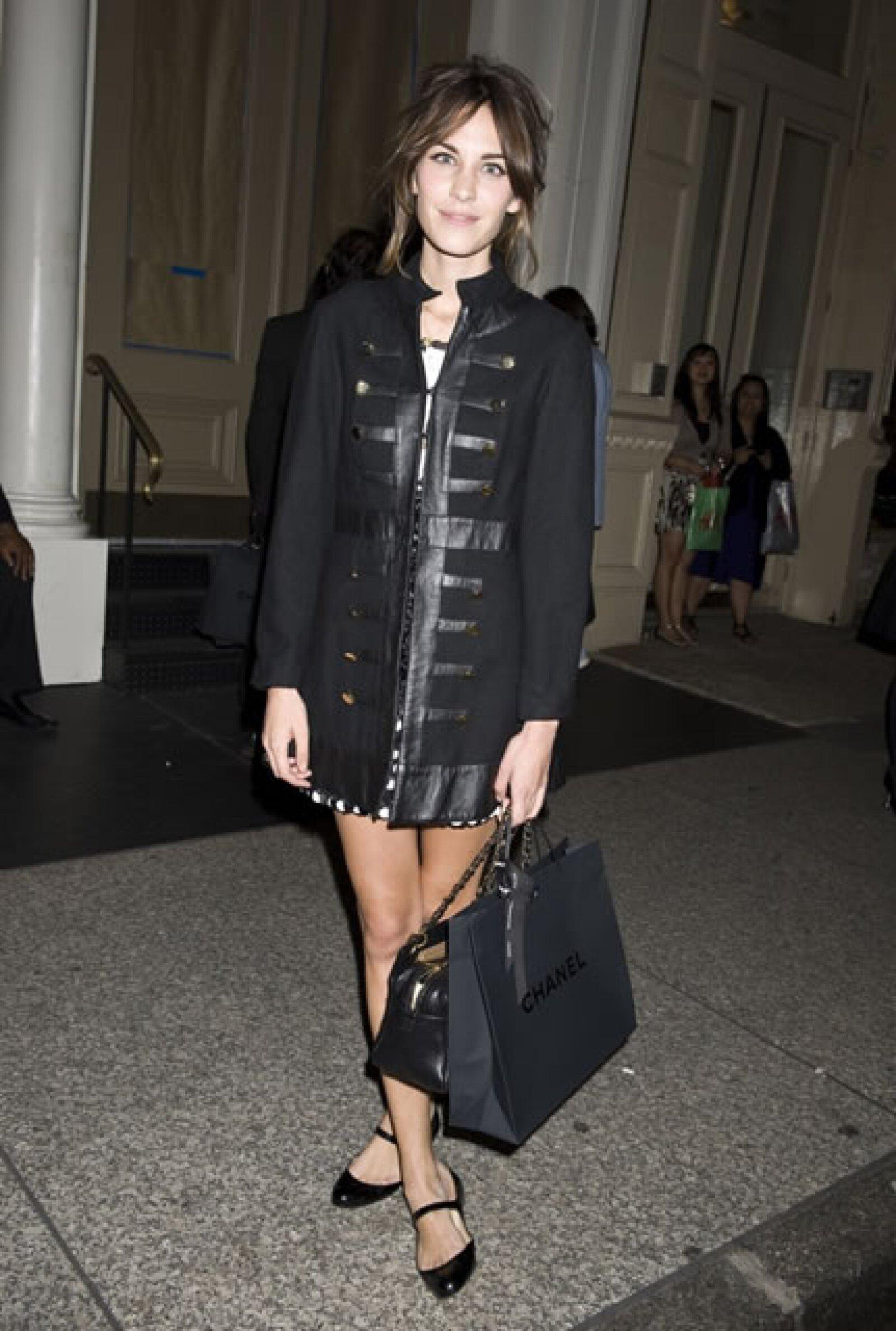 La trendsetter británica es una más de las seguidoras de la firma francesa.