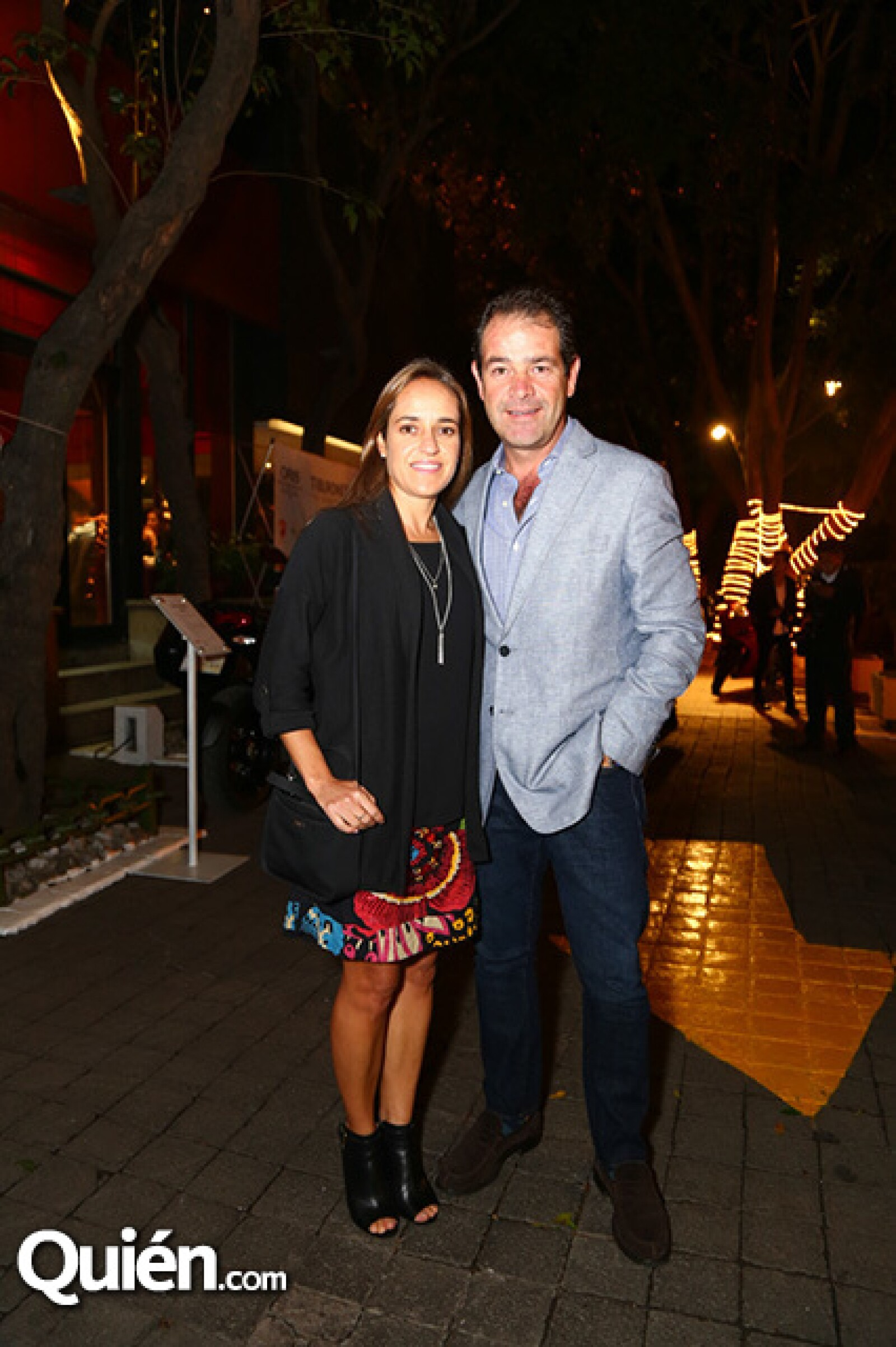 Sara Álvarez y Luis Miguel Fuentes