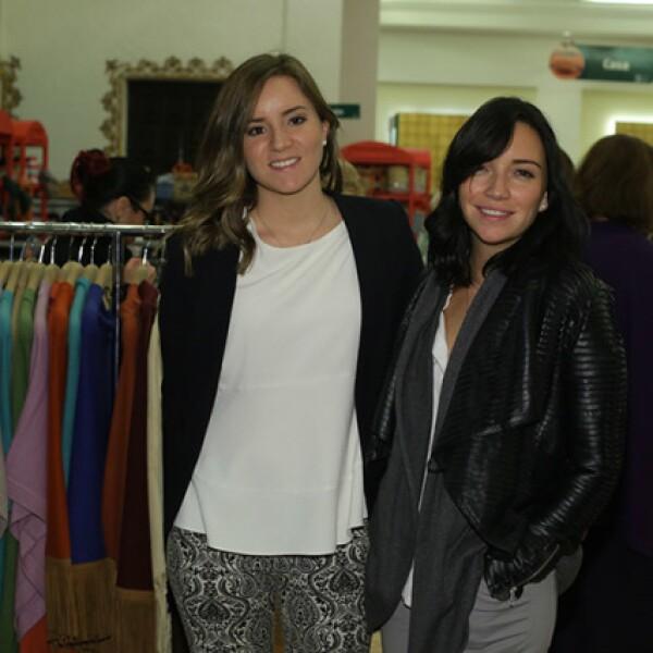 Regina Salazar y Regina Blandón