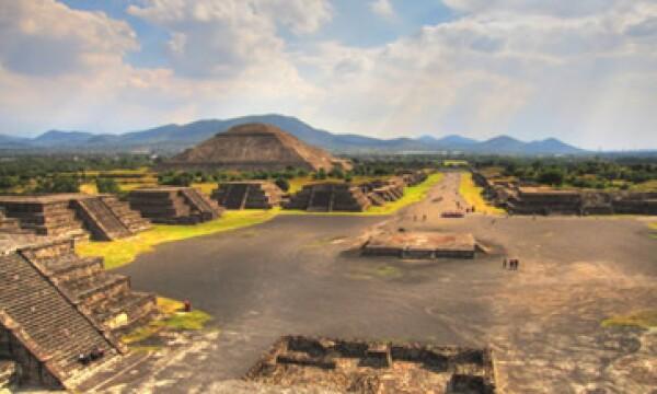 Teotihuacán será retratado con un equipo que se carga como una mochila. (Foto: Getty Images)