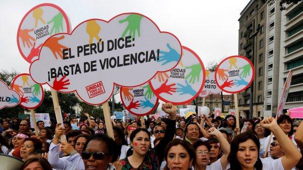 Perú en contra de la violencia