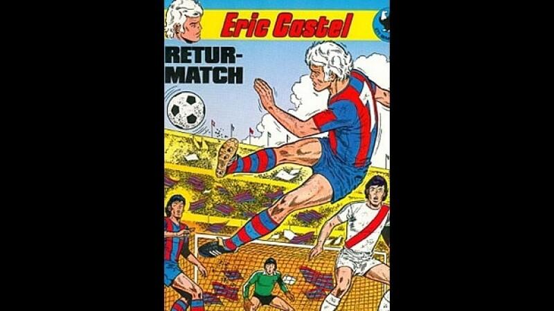 Portada comic Barcelona Eric Castel