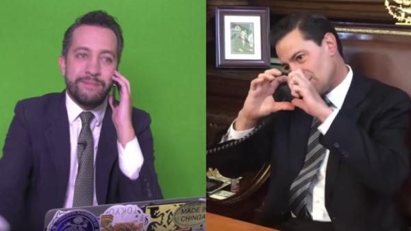 Peña Nieto y Chummel Torres