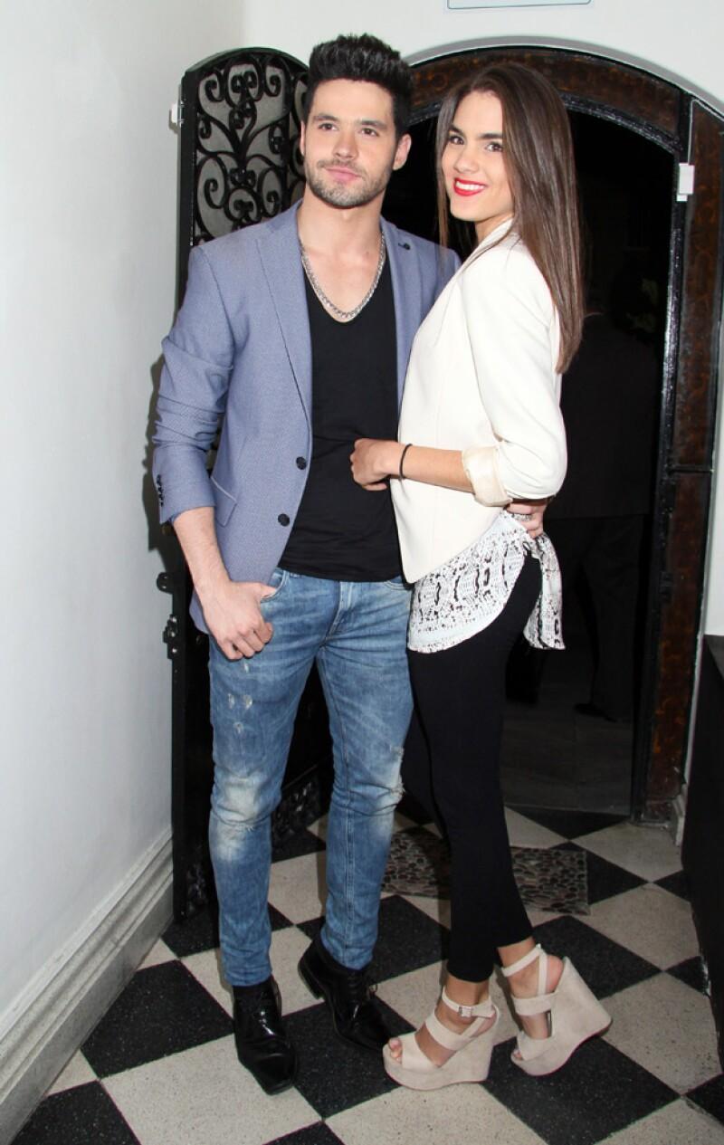 La pareja asistió al cumpleaños de Zoraida Gómez celebrada en el restaurante El Secreto.