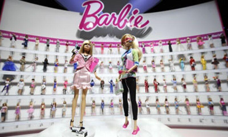 Las ventas mundiales de las muñecas cayeron 15% en el trimestre. (Foto: Reuters)