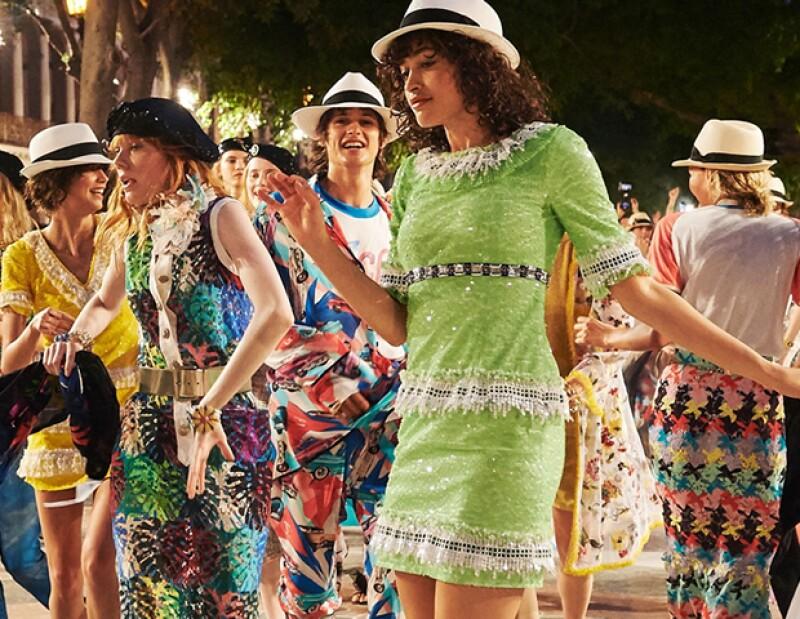 La colección crucero se distingue por los colores vivos, típicos de la cultura cubana.