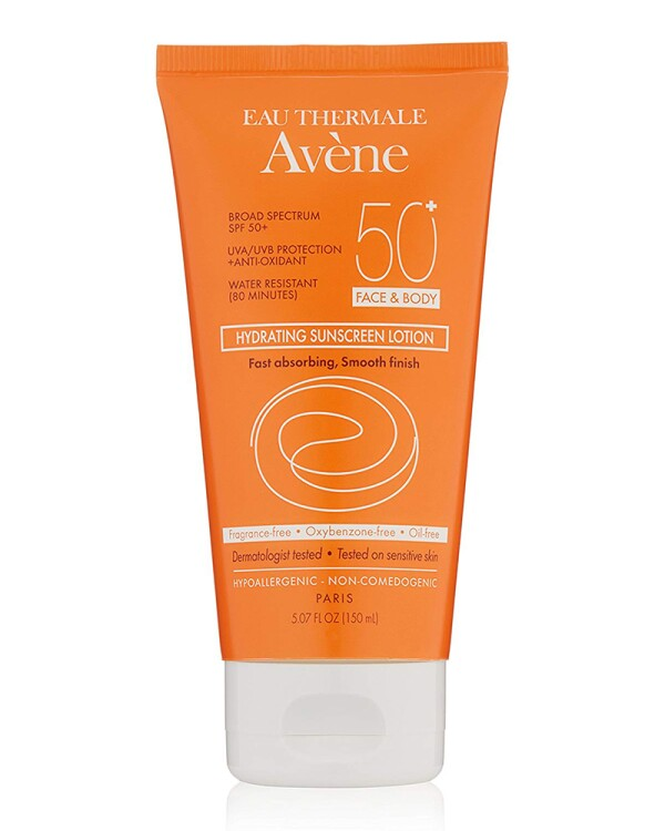 Eau Thermale Avène SPF 50 Plus Hydrating Sunscreen Lotion