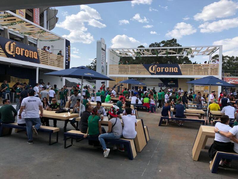 Corona Beer Garden Estadio Azteca