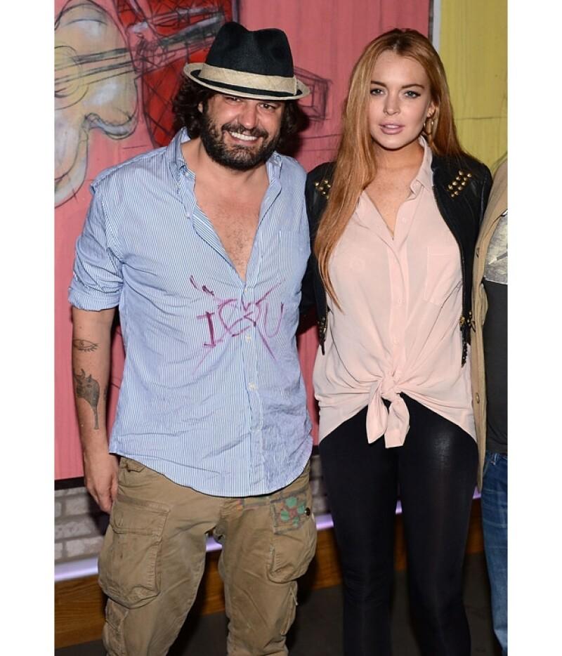 """En entrevista con Daily Mail el fotógrafo español negó completamente el tener una relación más allá de la amistad con la actriz de """"The Canyons""""."""