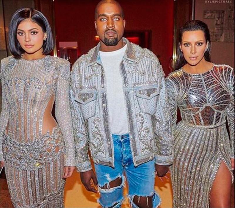 El rapero se enojó con Kylie al enterarse de su negociación con la competencia.