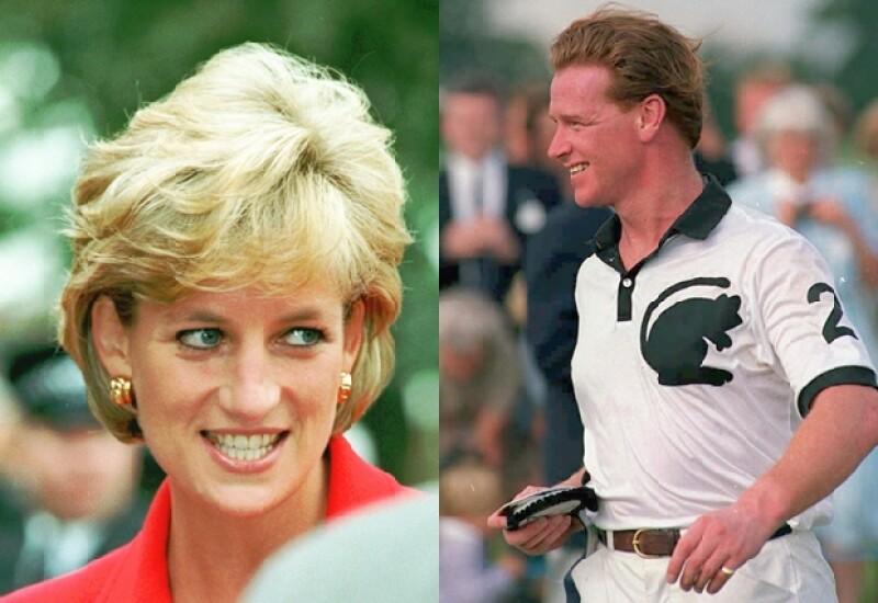 Diana y el comandante James Hewitt tuvieron una relación de cinco años.