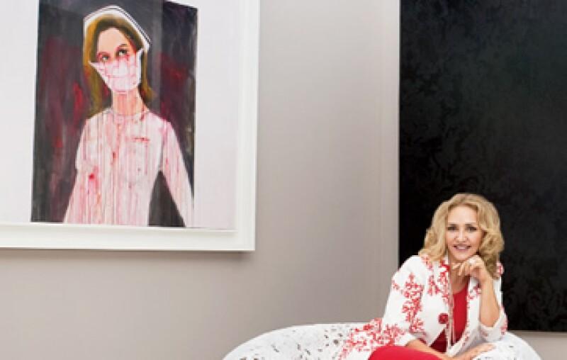 Angélica Fuentes es fanática de Richard Prince, uno de los artistas mejor valuados en el mercado y reconocido por sus retratos de enfermeras. (Foto: Alex H.O.)