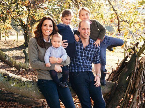 Duke and Duchess of Cambridge Christmas card, Norfolk, United Kingdom - 14 Dec 2018