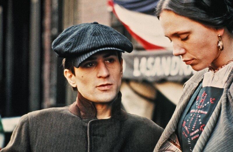 Robert De Niro como Vito Corleone en El Padrino II
