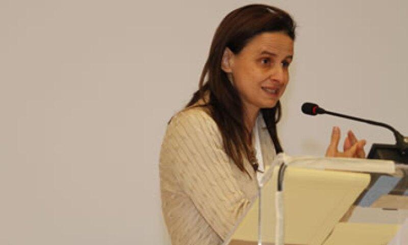 Marialisa Motta dijo que México necesita no sólo emprendedores, sino empresas con deseos de crecer.(Foto: Ana Blumenkron)