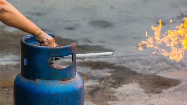 Cilindro de gas LP