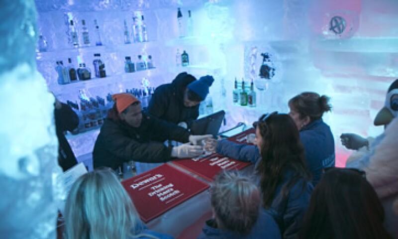Uno de los propietarios del club, Craig Ling, ideó el concepto después de hospedarse en un hotel de hielo en el Ártico. (Foto: AP)