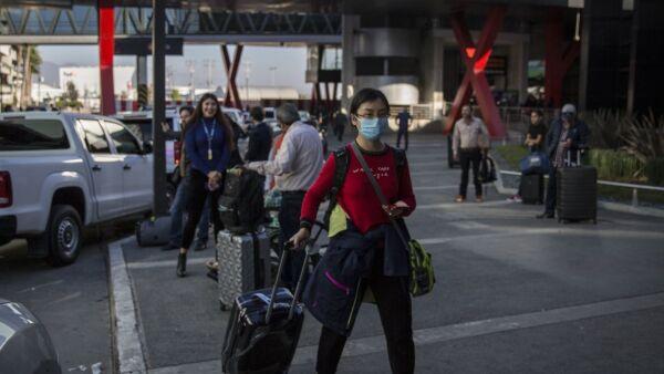 Arriba a Tijuana vuelo comercial de Beijing
