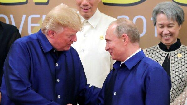 Trump Putin en Asia