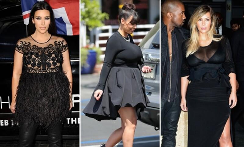 Kim Kardashian, Jessica Simpson y Fergie son tres famosas que por su tipo de cuerpo tuvieron que hacer un gran esfuerzo para recuperar sus figuras de impacto.