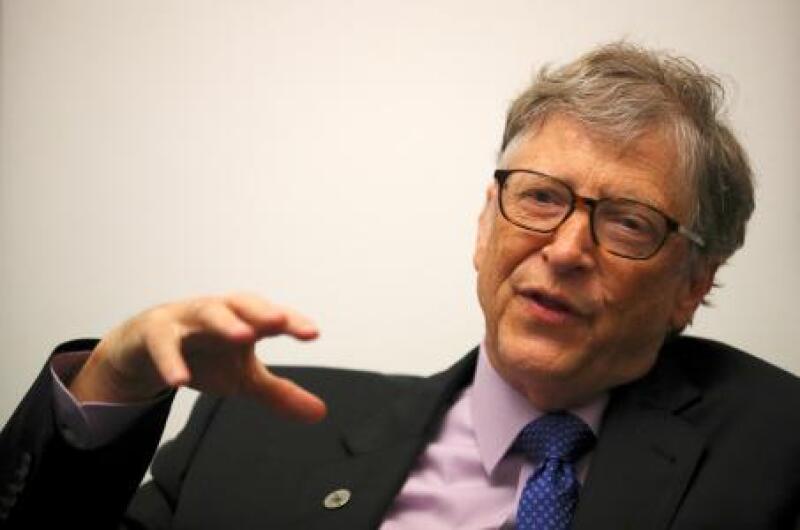Gates, quien cofundó Microsoft, es la segunda persona más rica del mundo.